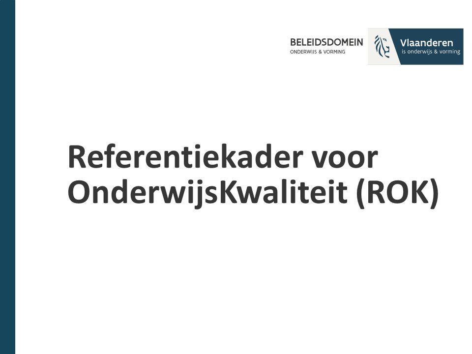 Referentiekader voor OnderwijsKwaliteit (ROK)