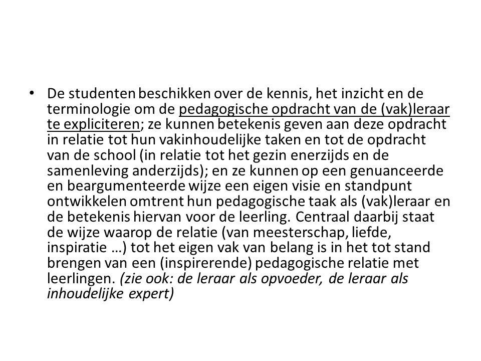 Bronnen; – Wielemans, W.(1996-1997). Onderwijsbeleid tussen sociaal- democratie en neoliberalisme.