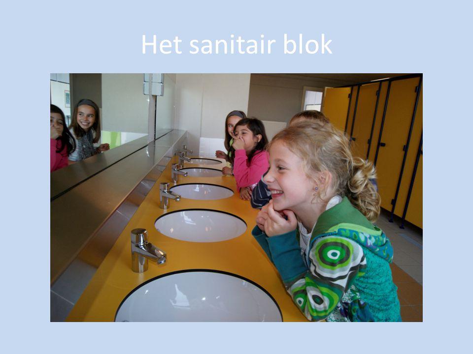 Het sanitair blok