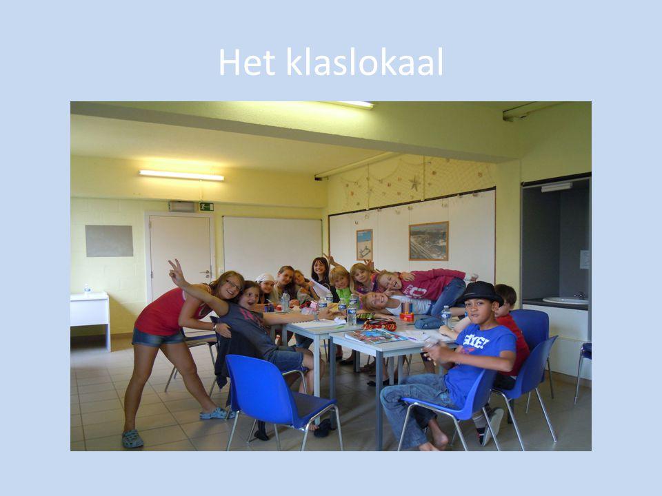 Het klaslokaal