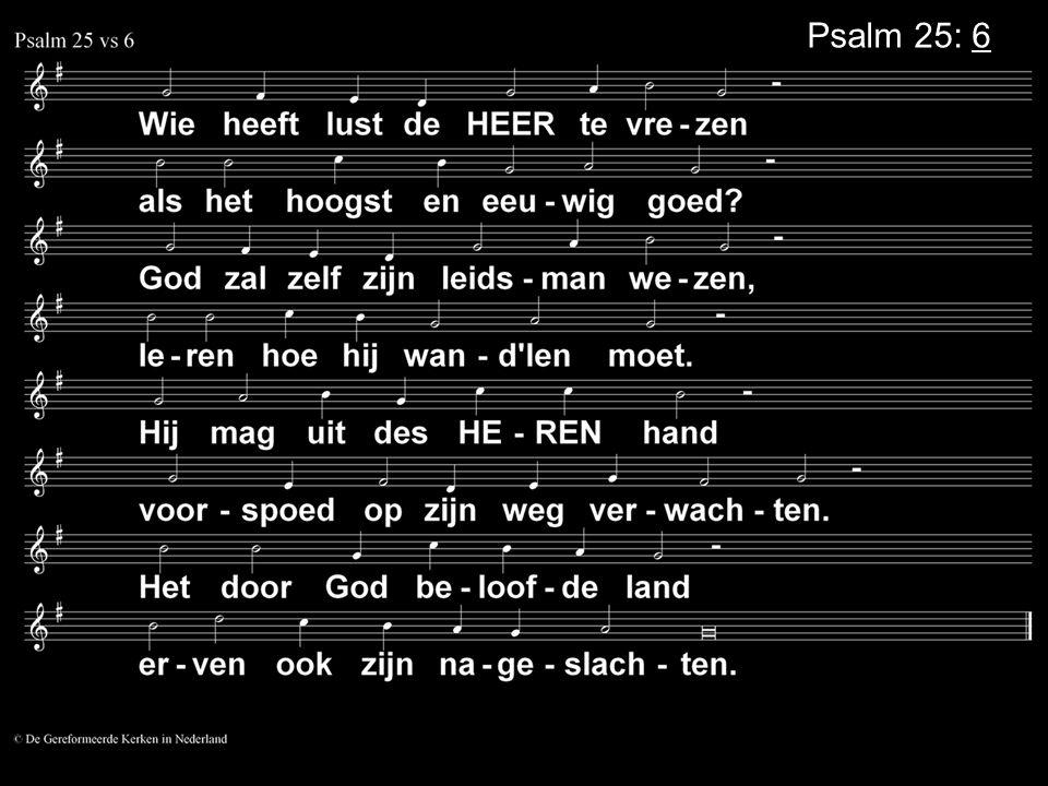 Psalm 25: 6