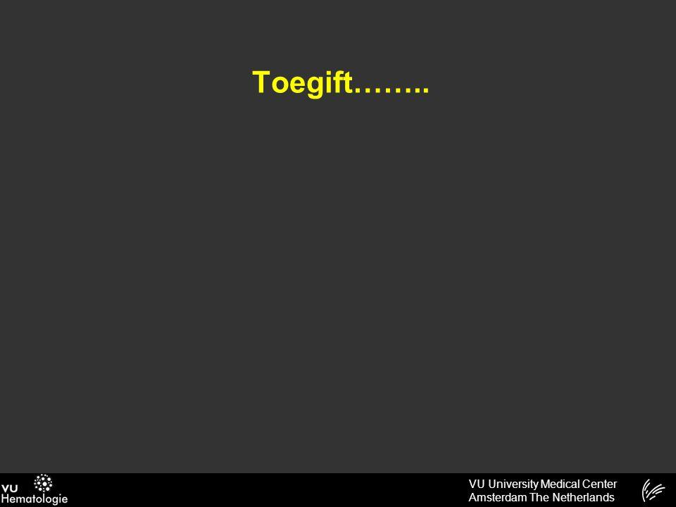 VU University Medical Center Amsterdam The Netherlands Toegift……..