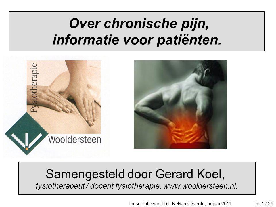 3.Over chronische pijn 1/2.