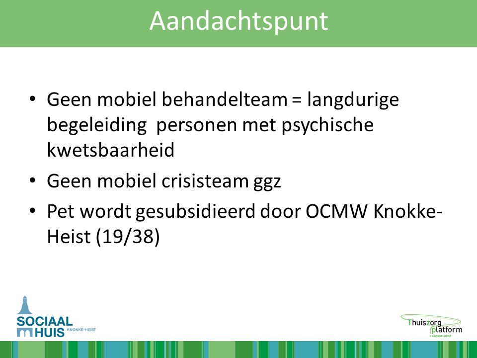 Casus 1 - Joanna Vanuit onze werking – Onmiddellijk contact met sociale dienst PZ OLV in afspraak met de mama en de huisarts.