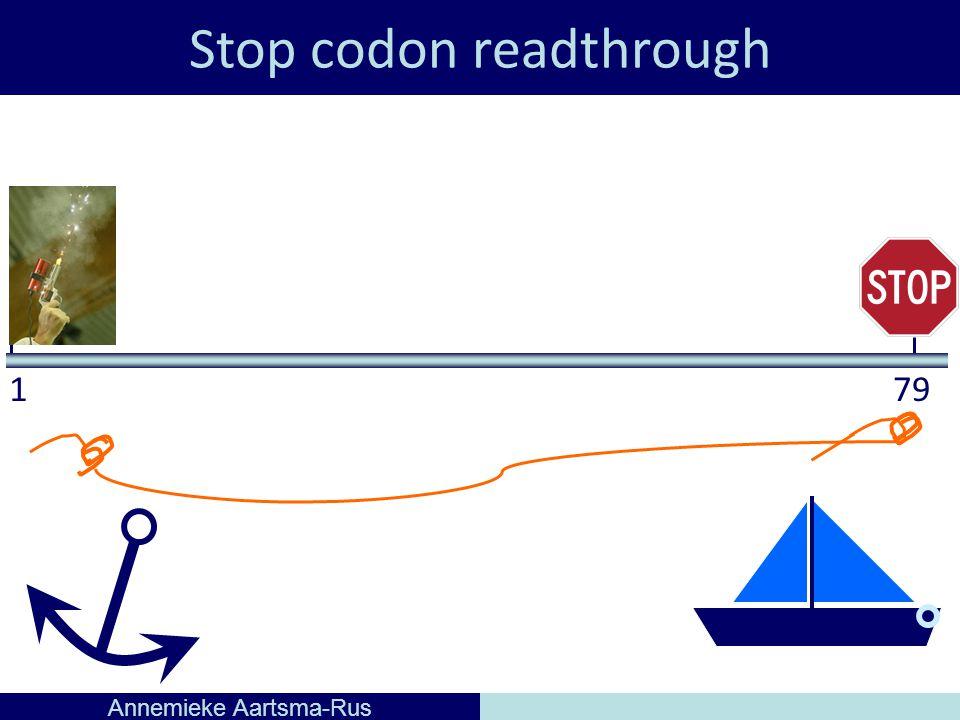 Stop codon readthrough Annemieke Aartsma-Rus 179