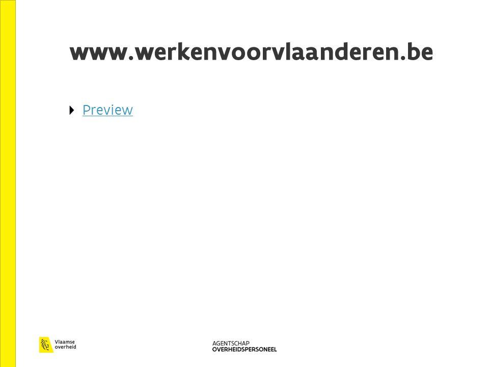 www.werkenvoorvlaanderen.be Preview