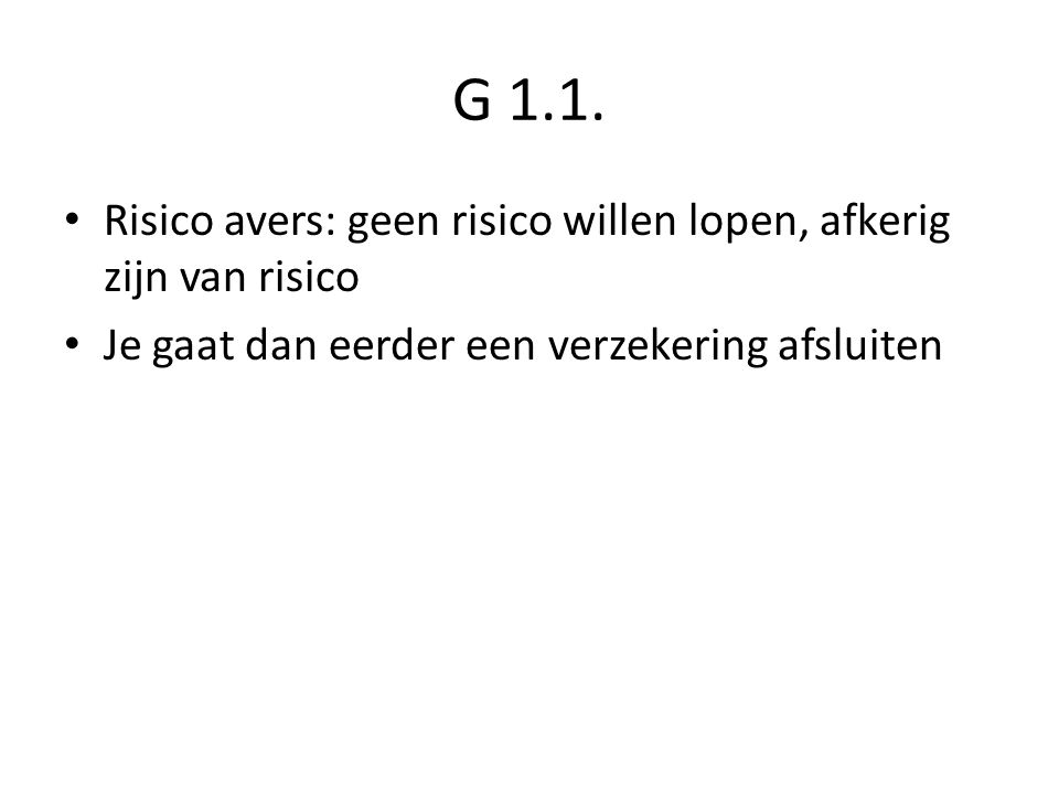 G 1.1.
