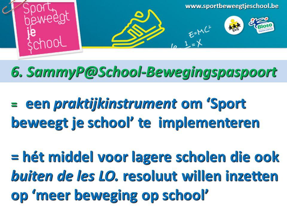 www.sportbeweegtjeschool.be 6.