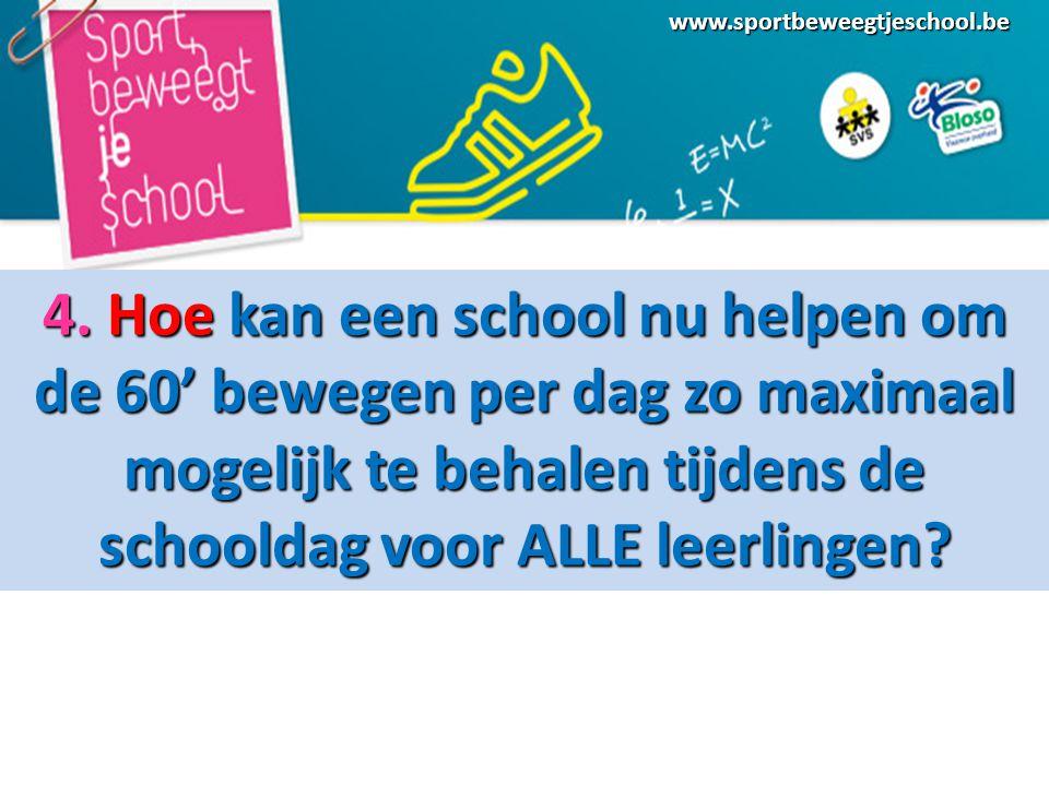 www.sportbeweegtjeschool.be 4.