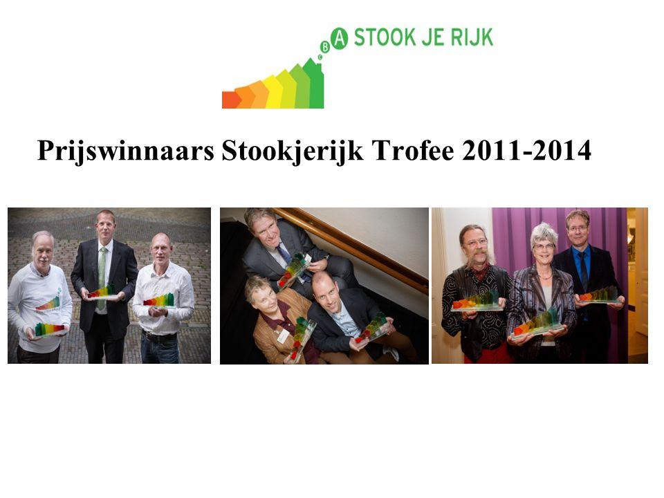 Prijswinnaars Stookjerijk Trofee 2011-2014