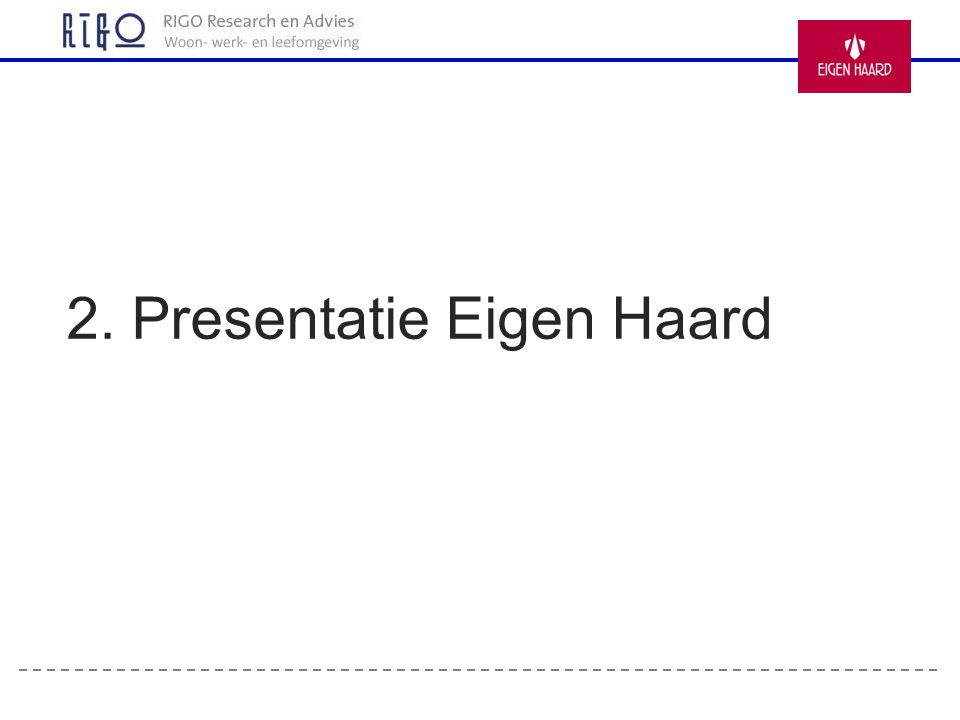 2. Presentatie Eigen Haard