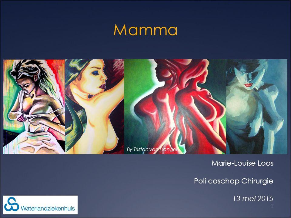 Mamma Marie-Louise Loos Poli coschap Chirurgie 13 mei 2015 1 By Tristan van Dongen