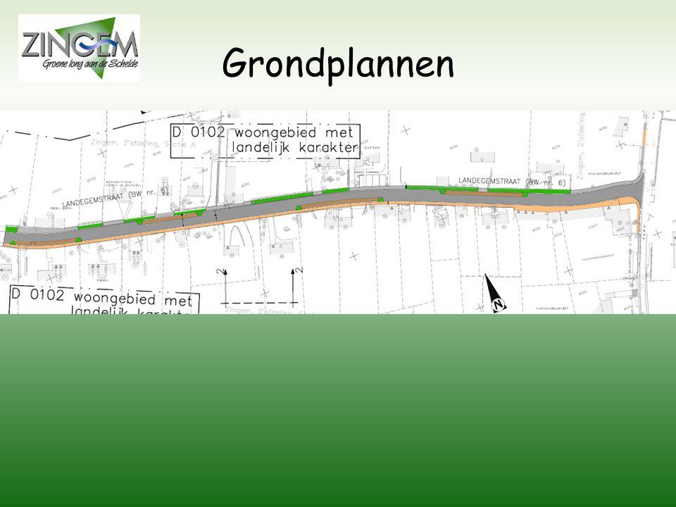 Grondplannen Grondplan rioleringswerken Grondplan wegeniswerken