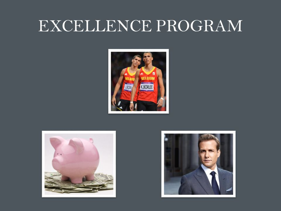 EXCELLENCE PROGRAM