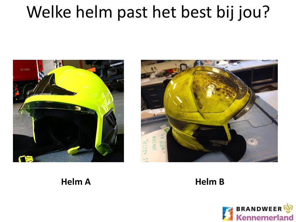 Welke helm past het best bij jou? Helm BHelm A
