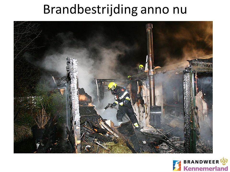 Brandbestrijding anno nu