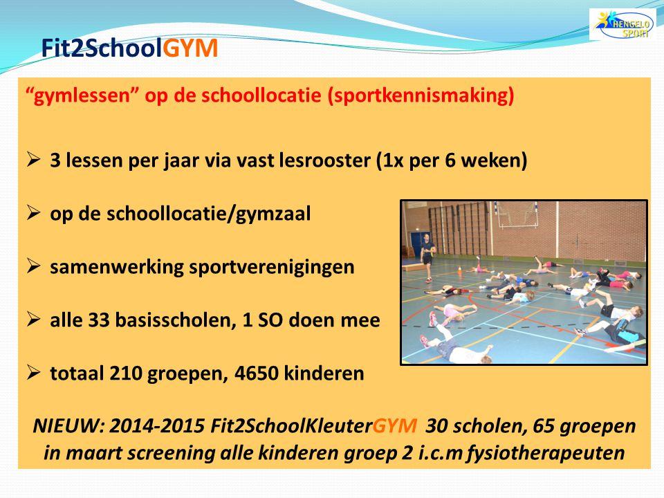 meedoen met alle groepen heeft de voorkeur  vroeg in kaart of kinderen een zwem diploma hebben (screening, sleepnet)  we kunnen zo dieper in gaan op