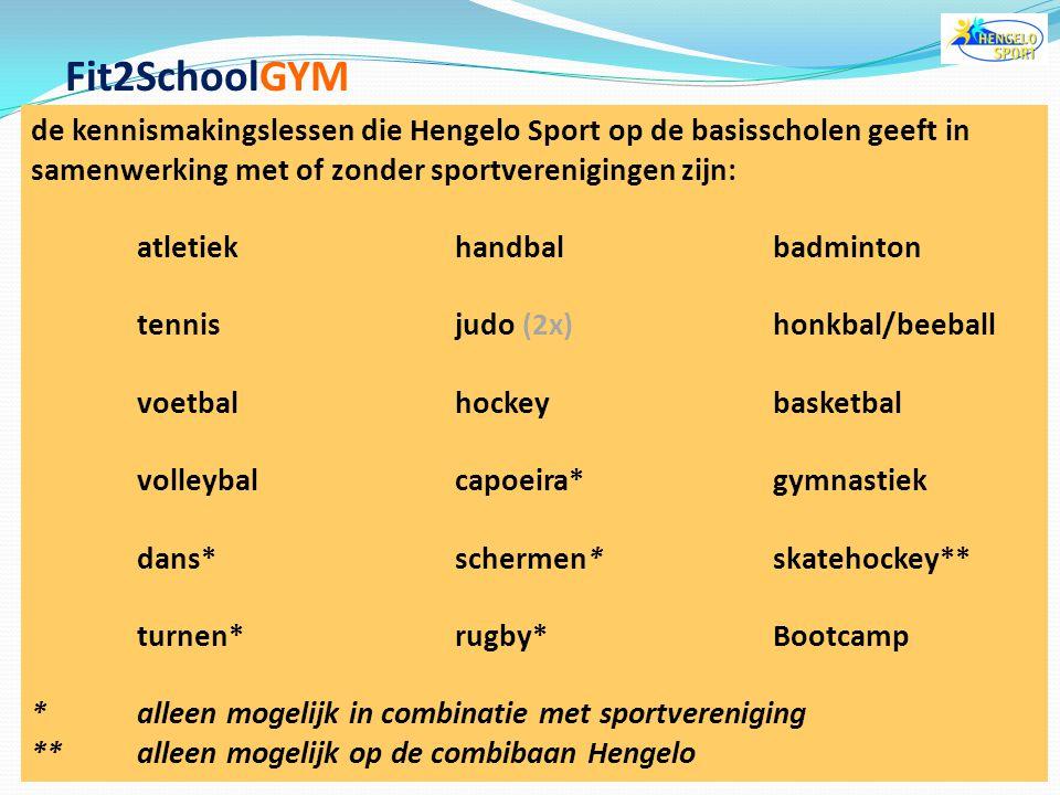 doelstelling  kinderen kennis laten maken met veel verschillende sporten  kinderen enthousiast maken om lid te worden van een sportvereniging  spor