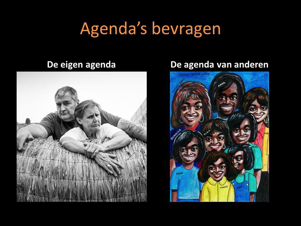 Agenda's bevragen De eigen agendaDe agenda van anderen