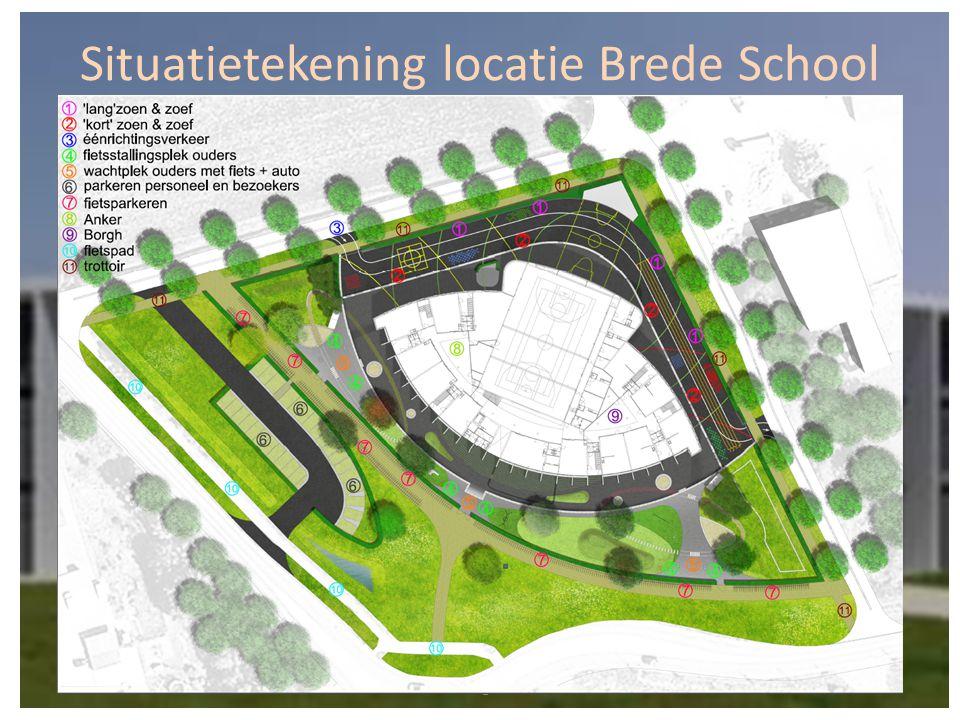 Situatietekening locatie Brede School Vcie OBS de Borgh, 21-04-2015,
