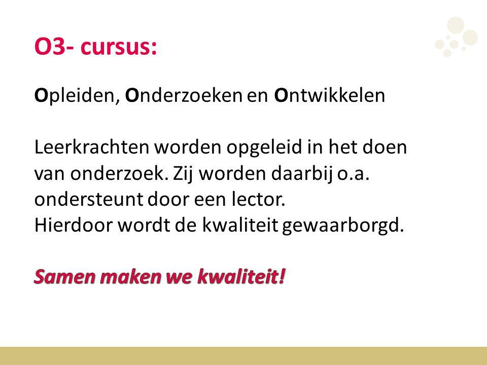 O3- cursus: