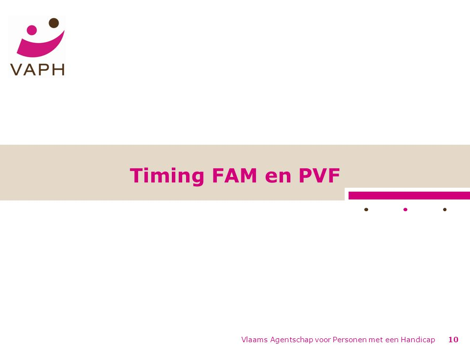 10 Timing FAM en PVF