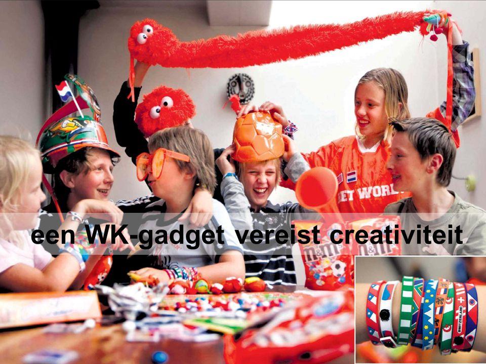 Retailmarketing hoofdstuk 9, paragraaf 9.4 een WK-gadget vereist creativiteit