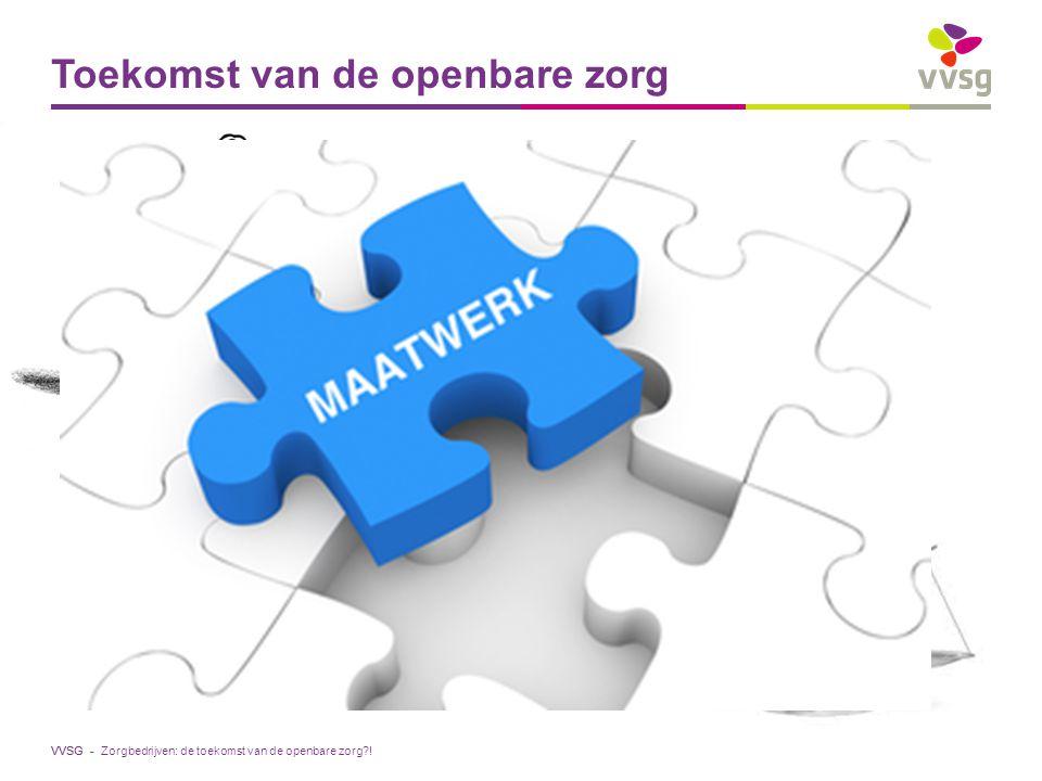 VVSG - Toekomst van de openbare zorg Zorgbedrijven: de toekomst van de openbare zorg?!
