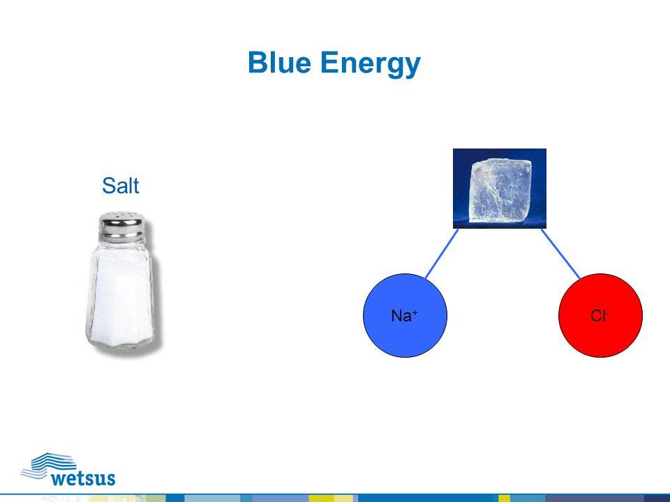 Blue Energy Cl - Na + Salt