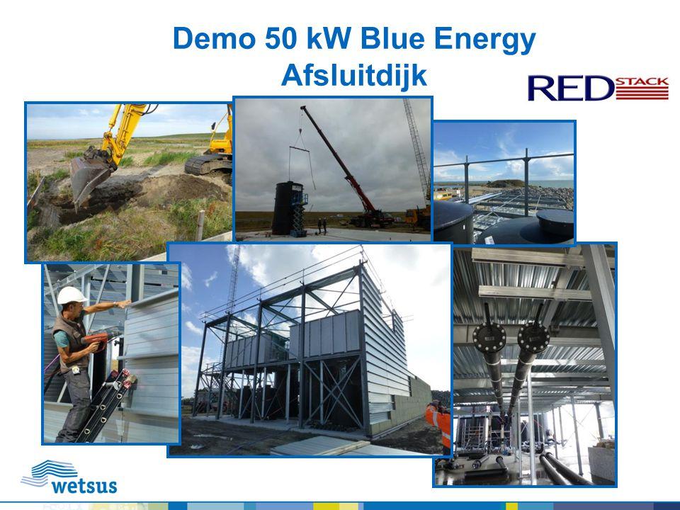 Demo 50 kW Blue Energy Afsluitdijk
