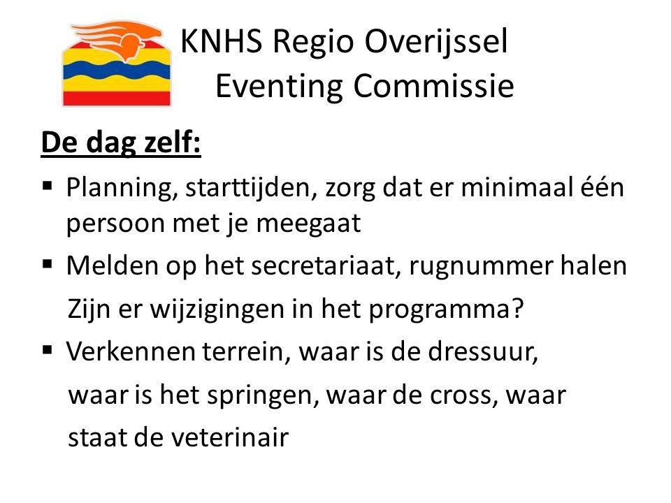 KNHS Regio Overijssel Eventing Commissie Einde presentatie deel 1 VRAGEN???