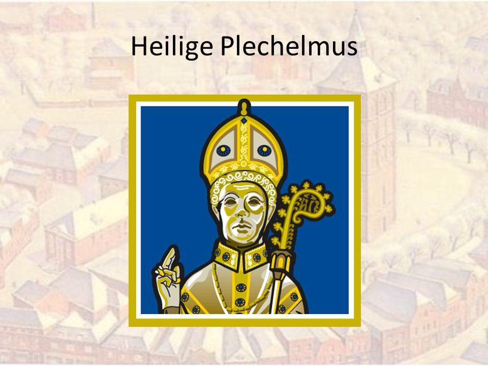 Wie was Plechelmus.Een rondreizende monnik uit Ierland.