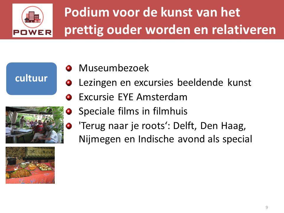 Podium voor de kunst van het prettig ouder worden en relativeren 9 cultuur Museumbezoek Lezingen en excursies beeldende kunst Excursie EYE Amsterdam S