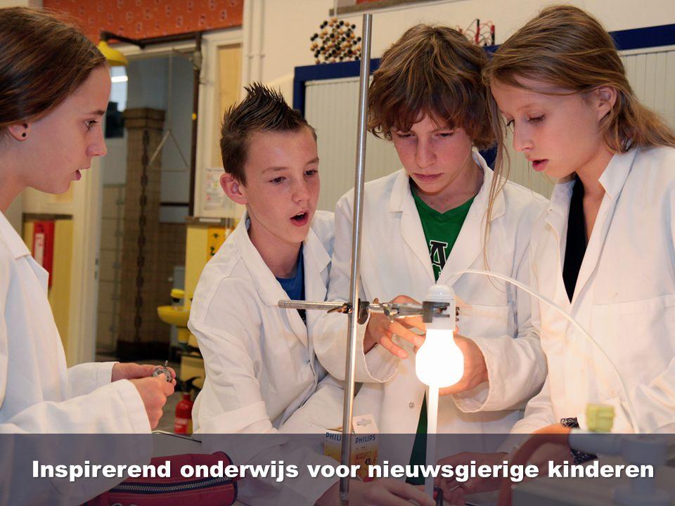 Inspirerend onderwijs voor nieuwsgierige kinderen