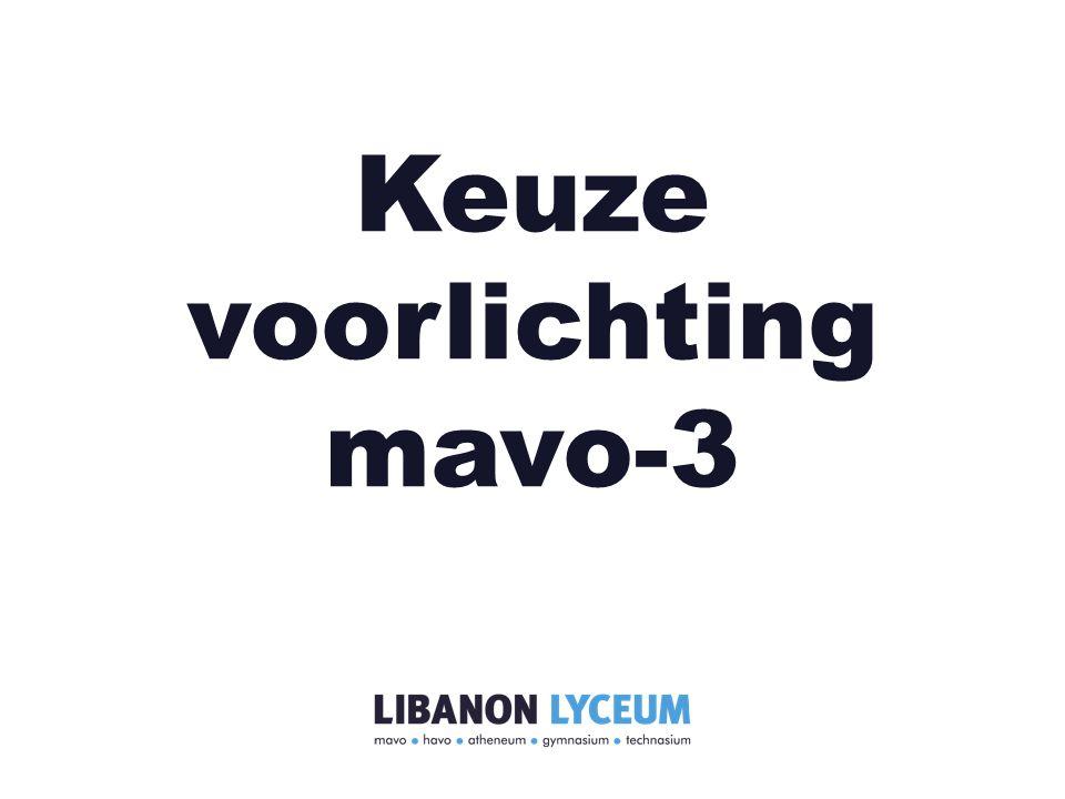 Keuze voorlichting mavo-3