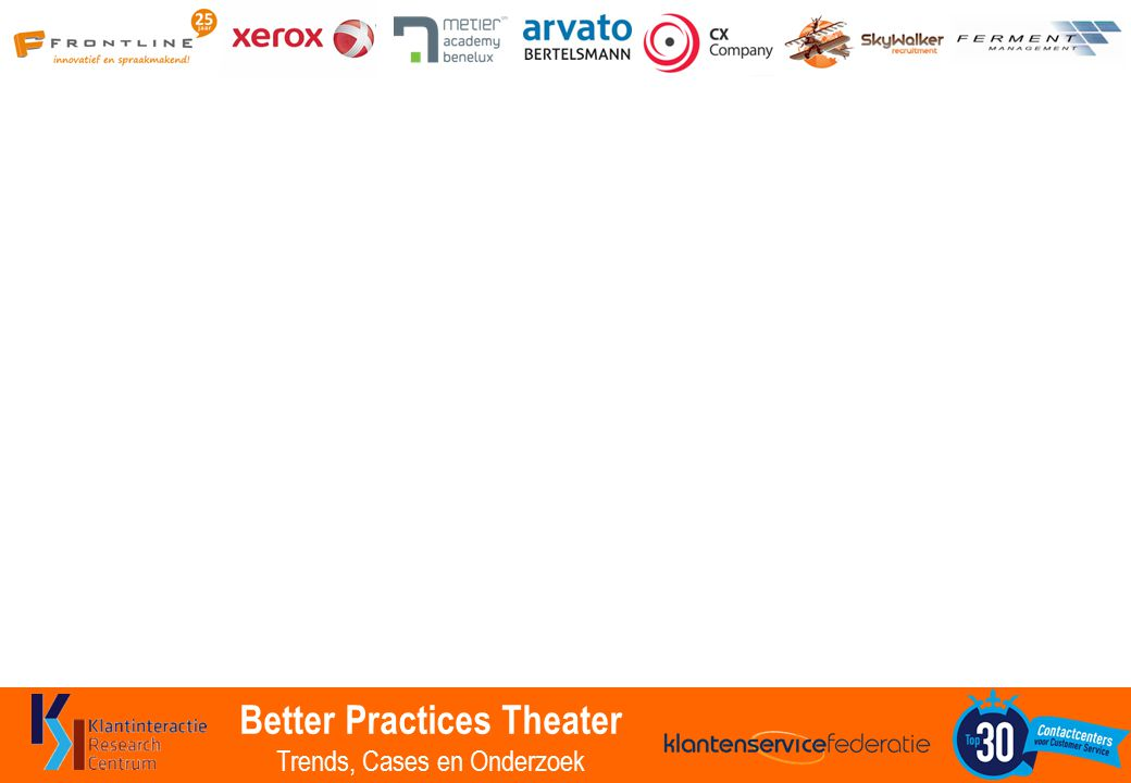 Better Practices Theater Trends, Cases en Onderzoek