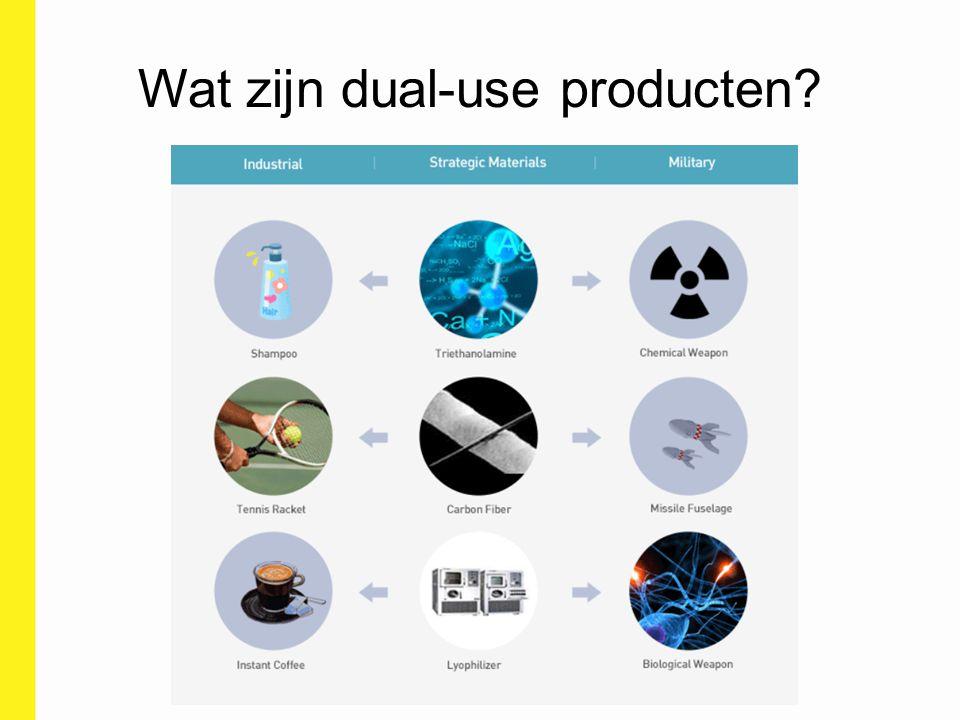 Exportcontrole regimes Wassenaar Arrangement The Australia Group Nuclear Suppliers Group Chemical Weapons Convention Missile Technology Control Regime