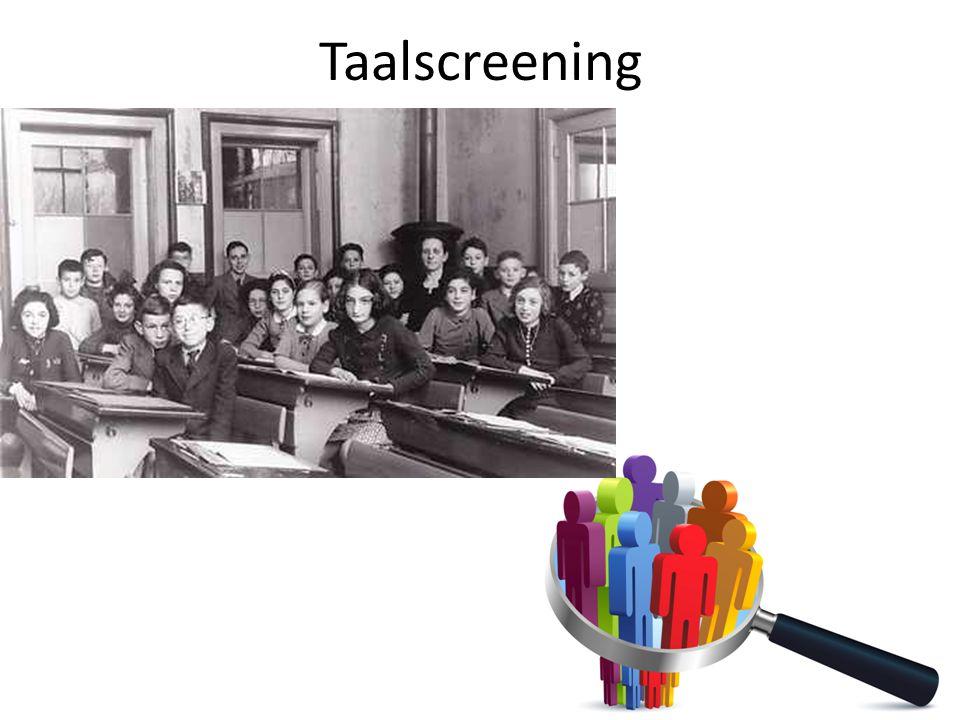 Taalscreening