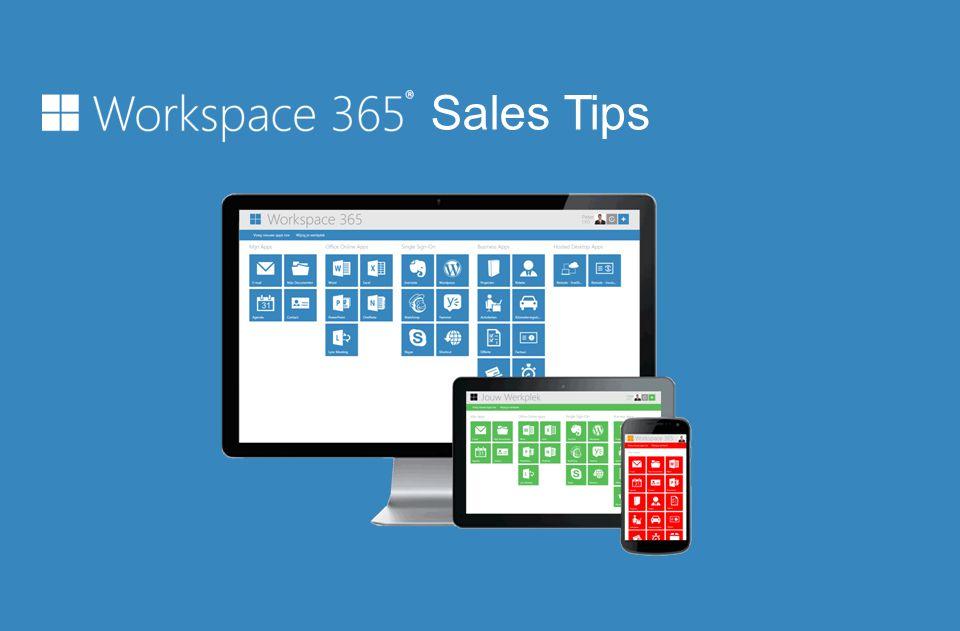 Waarom Workspace 365 verkopen.