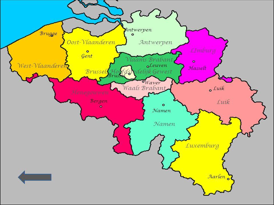 Klik op de juiste provincie of provinciehoofdstad Wil je de kaart van België nog even raadplegen ? Klik op onderstaande pijl Wil je onmiddellijk de oe