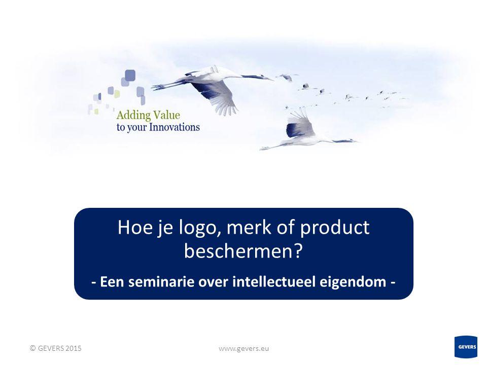13 www.gevers.eu GEVERS verklaart, noch direct, noch indirect, verbonden te zijn met de in deze presentatie genoemde ondernemingen dan wel hen te vertegenwoordigen.