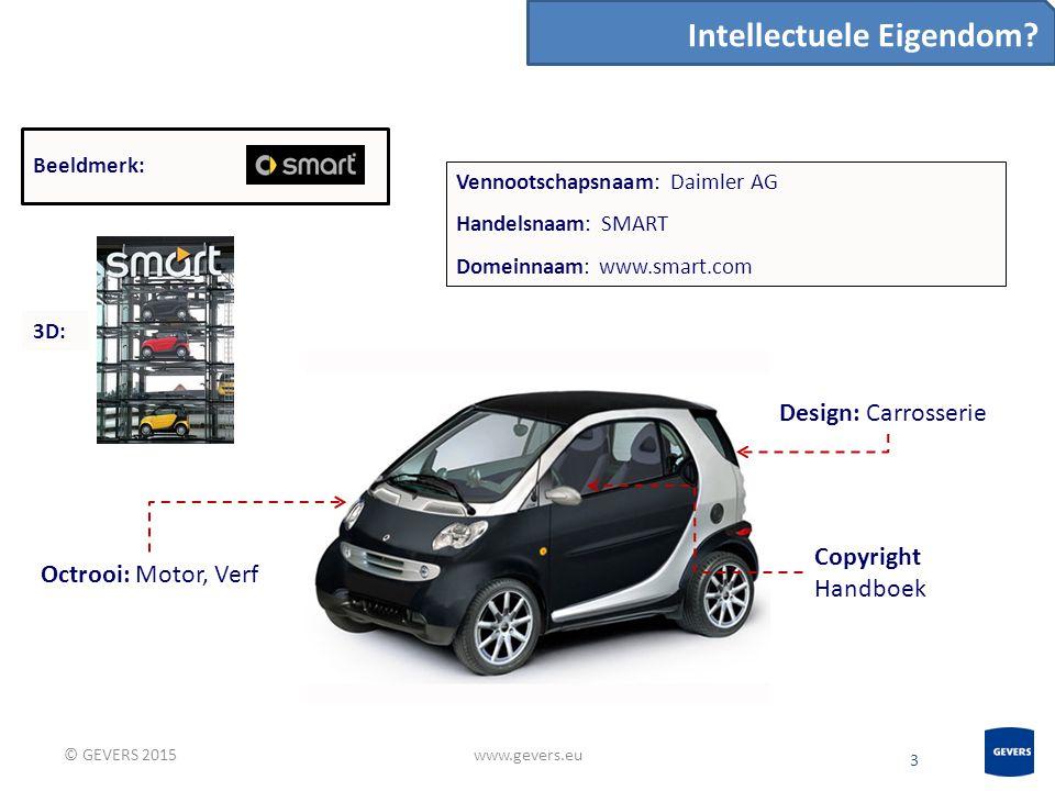 3 www.gevers.eu Intellectuele Eigendom.