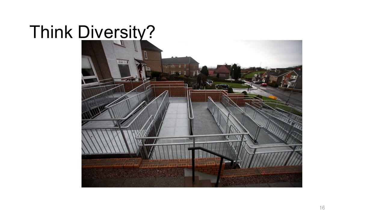 Think Diversity? 16