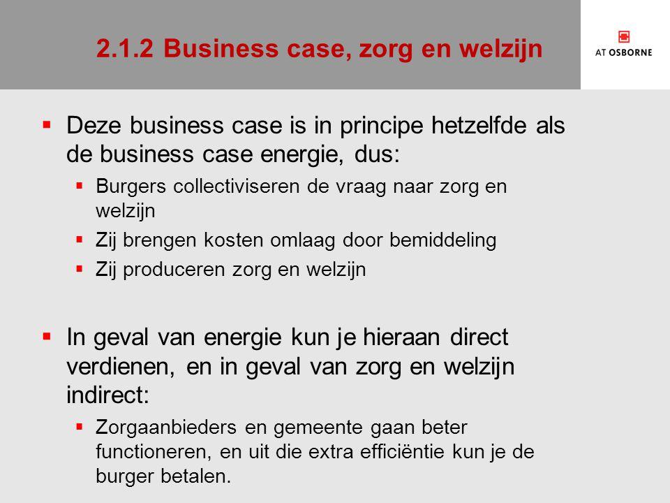 2.2De burgeronderneming  De productie is continu en dus richten burgers daarvoor ondernemingen op.