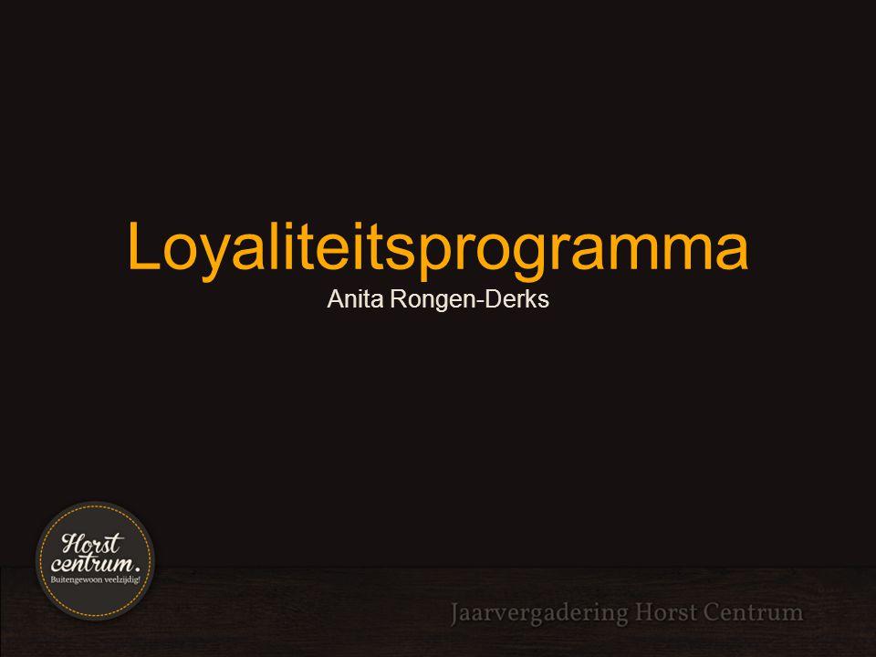 Loyaliteitsprogramma Aansluitmogelijkheden