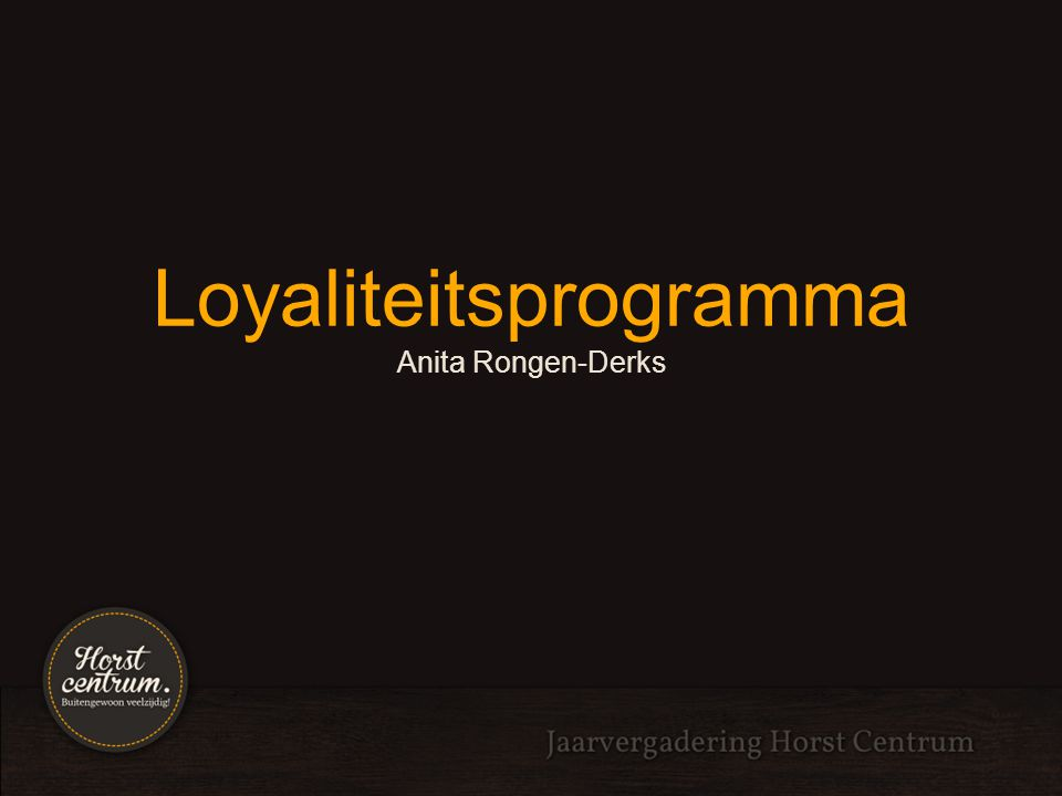 Loyaliteitsprogramma