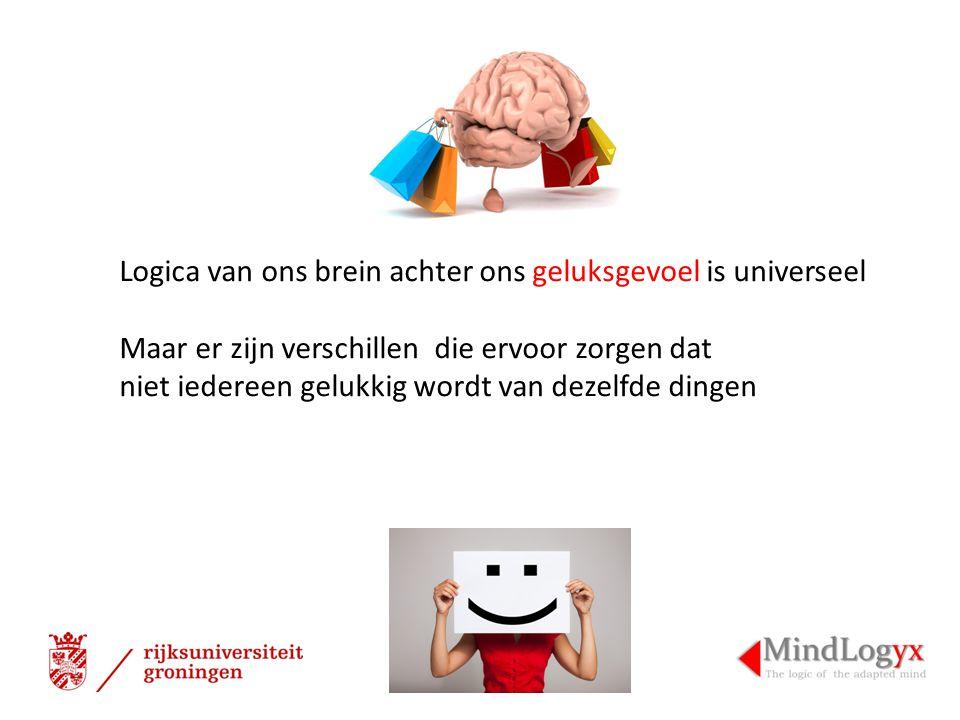 Logica van ons brein achter ons geluksgevoel is universeel Maar er zijn verschillen die ervoor zorgen dat niet iedereen gelukkig wordt van dezelfde dingen