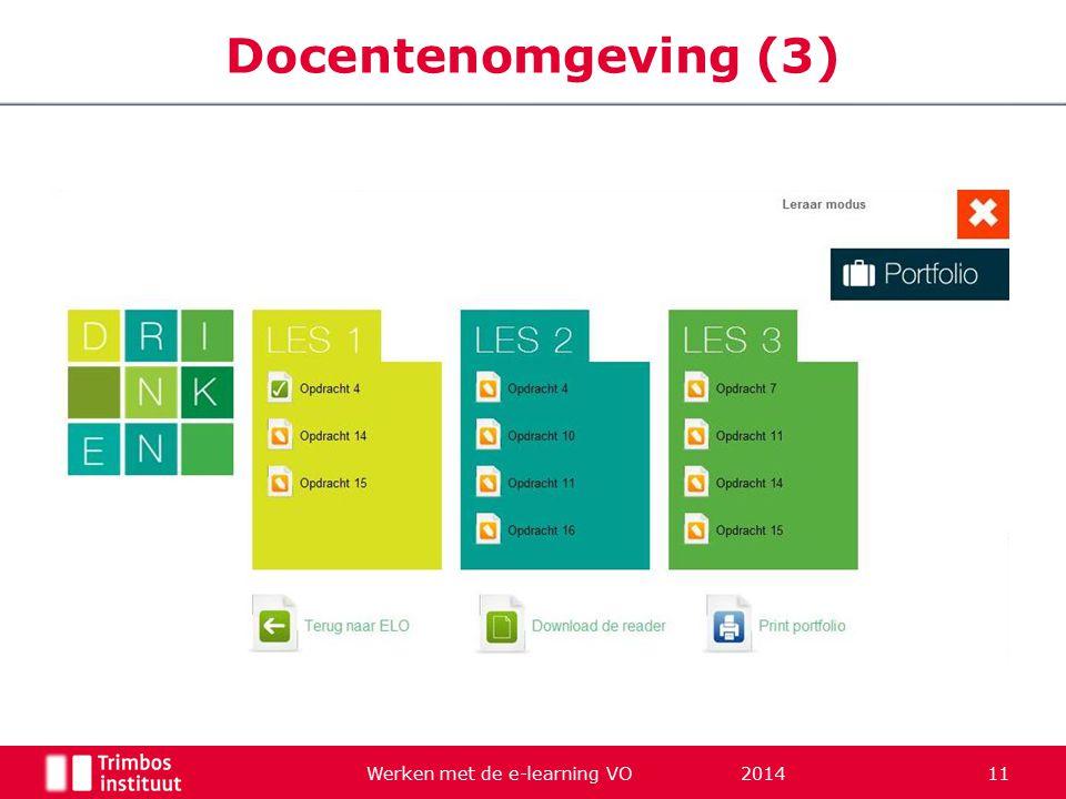 Werken met de e-learning VO 2014 11 Docentenomgeving (3)