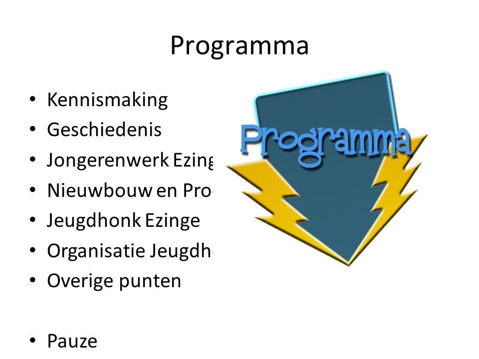 Kennismaking (jongerenwerk) Buurt Stichting jeugdsoos Ezinge Dorpsbelangen Jongeren Gemeente Jongerenwerk