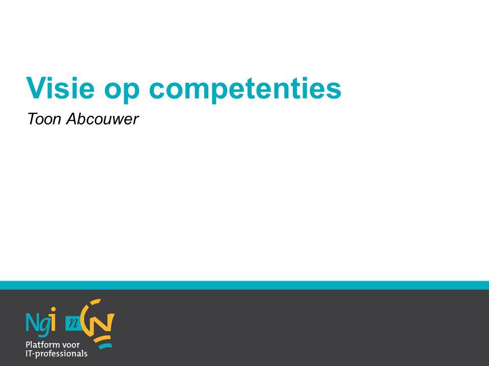 Visie op competenties Toon Abcouwer